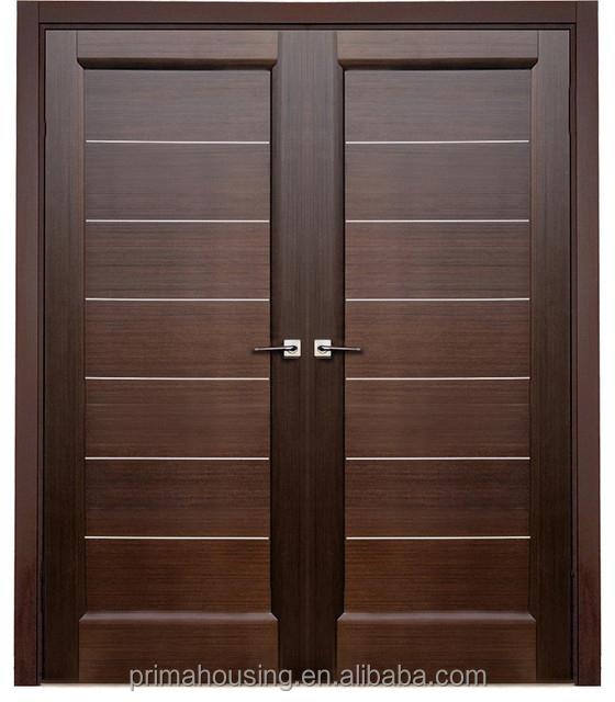 Double Interior Swing Solid Wooden Doordoor Price Buy Double