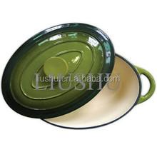 Enamel cast iron cookware 32 cm bakeware / dutch oven