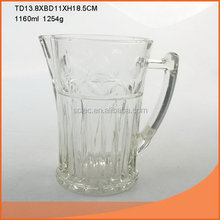 High quality classical 1l glass beer bottles