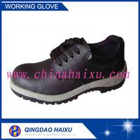 2015 new design safety black steel toe safety shoes
