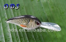 2014 New hard plastic hand poured crank bait fishing lure metal jig