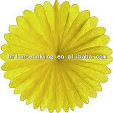 New Most Popular Tissue Paper Fan Flower and Honeycomb for celeration