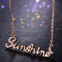 Fashion Jewelry Stainless Steel Two Tone Mini Titan Matte Black Necklaces