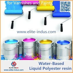 Water based free samples liquid polyester resin for paint