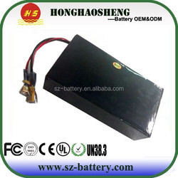 High powerful li-ion battery pack 48v 20ah rechargeable battery pack for Golf car