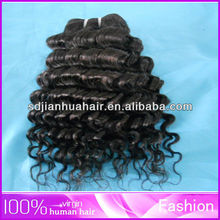 Wholesale Blue Butterfly Jazz Wave Dyeable Natural Color b1 Unprocessed Russian Virgin Divine Remi Human Hair Extensions on sale