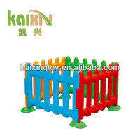 2015 Funny Colorful Plastic Children Fence