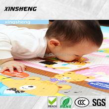 Cheap baby floor play mat, non-toxic color printed baby play mat, anti-slip baby floor mat