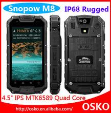 IP68 waterproof mobile phone two way radio Snopow M8 See larger image IP68 waterproof mobile phone two way radio Snopow M8