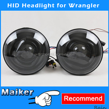 HID Xenon Headlamp For Jeep Wrangler JK Headlight Auto Lighting