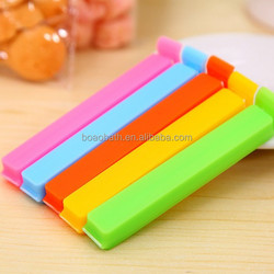 colorful Assorted Colors Home Kitchen Food Snacks Chips Plastic Bag Seal Sealing Clip Clamp Sealer