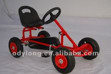 manual assembly kid's pedal go kart,children toy,buggy F90A