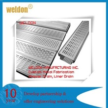 Weldon stainless steel project use with bottom outlet shower/kitchen floor grate drain