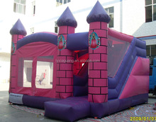 Customize Beautiful Princess Castle Inflatable Bounce House/ Bouncy Castle/ Bouncer and Jumper for Kids