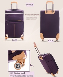suitcase cabin travel luggage trolley bag ABS PC PP luggage sets carry on luggage bag