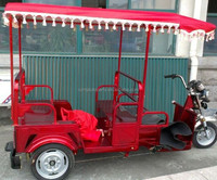 Chinese Cheap price bajaj three wheeler electric auto rickshaw for sale for passenger