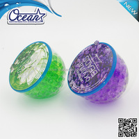 150g best crystal beads air freshener for car/eco-friendly air freshener/rose car air freshener