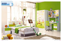 Foshan high quality modern SpongeBob children home bedroom furniture set