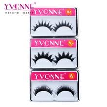High quality synthetic black false eyelash wholesale( 10pairs/box), Paypal