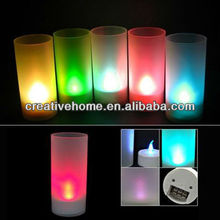 LED Magic Color Changing Candle Light - Flicker Light, Special for christmas gift
