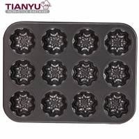 Carbon Steel Bakeware 12 Cup Muffin Pan