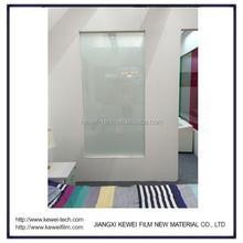 High above 83% transparency single ply smart glass. High clear