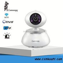 Onvif P2P 720P HD analog to ip camera converter 128GB SD card Max 64ch wifi IP camera alram sensor
