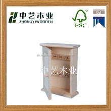 2015 hot selling china suppliers FSC&SA8000&ISO9001 antique wall hanging wooden boxes for decorating