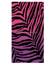 China factory 100% Cotton Printing quick dry beach towels with male female sex picture