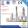 hot sale High Voltage Vacuum waste oil to diesel fuel refinery/used oil re-refining plant