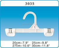 clip style 1004 kids plastic pants hangers