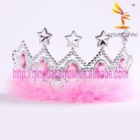 Pink Fashion Custom Star Tiara Crown for Kids