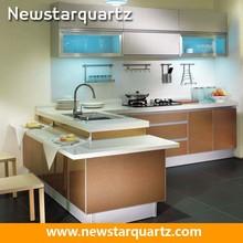 Newstar Quartz White Kitchen Decorating Ideas For Kitchen Countertop