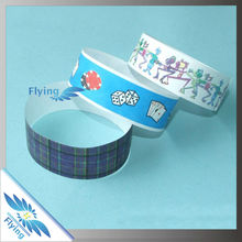 Waterproof Custom Cheap Tyvek Wristbands