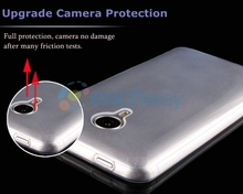 0.3MM Clear Crystal Slim Soft Gel Jelly TPU Back Cover Skin Case For Nokia Lumia 532 Case