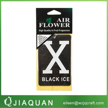 top quality custom scents wholesale air freshener ,promotional custom car air freshener