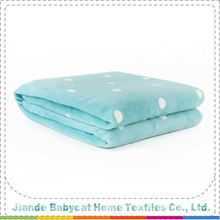 Hot Selling excellent quality custom solid fleece blanket from manufacturer