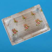 plastic sushi tray with lid