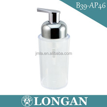 B39 hot sales new products 250ml round shaped soap bottle, 250 ml bathroom soap bottle
