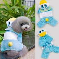 Trade Assurance Stylish Dog Jacket Durable Dog Apparel Creative Cute Pets Vest Cartoon Pet Jumpsuit