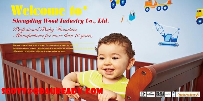 Euro ROYAUME-UNI traîneau lit bébé en bois \ lit bébé \ bébé lit