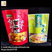 Trade Assurance supplier custom aluminum foil commercial plastic food packaging for nuts