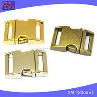 Stylish metal quick release buckle,side release buckle for bag parts,release buckle
