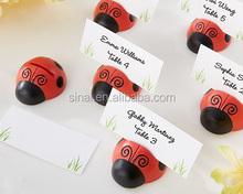 Wedding Favors Cute as a Bug Ladybug Place Card/Photo Holder