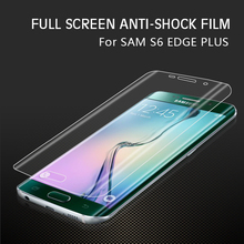 Full cover edge to edge screen protective film for Samsung galaxy S6 edge plus