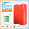 2015 portable HEPA indoor air purifier household air cleaner home air ionizer