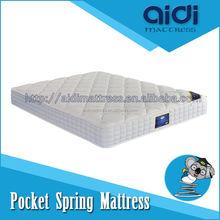 Thick Pillow Top Cheap Massage Hotel King Sleep Furniture Bed Mattress AI-1301