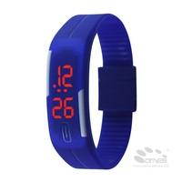 Silicone Fashion LED Watch Date Sports Bracelet Digital Wrist Watch