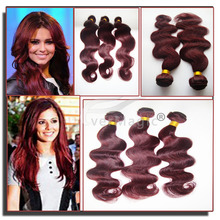 no tangle no shedding virgin wavy hair manufactured products brazilian hair weave 99j body wave sexy hair