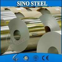 Hot selling tinplate with golden lacquer for food cans